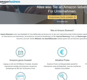 Amazon Business Gutschein